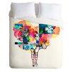 DENY Designs Randi Antonsen Lightweight Flower Duvet Cover
