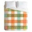 DENY Designs Zoe Wodarz Lightweight Pastel Plaid Duvet Cover