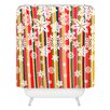 DENY Designs Aimee St Hill Flakes Woven Polyester Shower Curtain