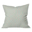 DENY Designs Tammie Bennett X Check Polyester Throw Pillow