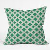 DENY Designs Allyson Johnson Classic Emerald Outdoor Throw Pillow