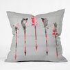 DENY Designs Iveta Abolina Feathers Outdoor Throw Pillow