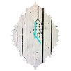 DENY Designs Kent Youngstrom Holiday Trees Wall Clock
