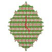 DENY Designs Ingrid Padilla Holiday Wall Clock