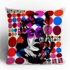 <strong>DENY Designs</strong> Randi Antonsen Poster Heroins 6 Polyester Throw Pillow