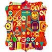 <strong>Chobopop Elecro Circus Wall Clock</strong> by DENY Designs