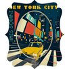 DENY Designs Anderson Design Group NYC Times Square Wall Clock