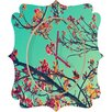 DENY Designs Shannon Clark Summer Bloom Wall Clock