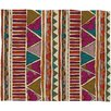 <strong>DENY Designs</strong> Valentina Ramos Ethnic Stripes Polyester Fleece Throw Blanket