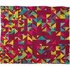 DENY Designs Arcturus Chaos 3 Polyester Fleece Throw Blanket