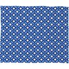 DENY Designs Caroline Okun Blueberry Polyester Fleece Throw Blanket