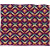 DENY Designs Bianca Green Aztec Diamonds Hammock Polyester Fleece Throw Blanket