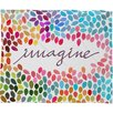 DENY Designs Garima Dhawan Imagine 1 Polyester Fleece Throw Blanket