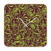 <strong>DENY Designs</strong> Wagner Campelo Abstract Garden Wall Clock