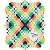 <strong>Budi Kwan Retrographic Rainbow Quatrefoil Memo Board</strong> by DENY Designs