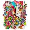 DENY Designs Stephanie Corfee Miss Penelope Wall Clock