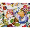 CayenaBlanca Blossom Pastel Polyester Fleece Throw Blanket