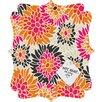 DENY Designs Andrea Victoria Summer Tango Floral Quatrefoil Memo Board