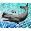 DENY Designs Garima Dhawan New Friends 3 Polyesterrr Fleece Throw Blanket