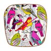 <strong>DENY Designs</strong> Mary Beth Freet Home Birds Wall Clock