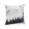 DENY Designs Bird Wanna Whistle Mountain Throw Pillow