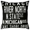 <strong>Chicago Pillow</strong> by Uptown Artworks