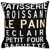 <strong>Uptown Artworks</strong> Patisserie Pillow