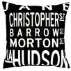 Uptown Artworks West Village Pillow