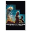 <strong>Buyenlarge</strong> Pillars of Creation Graphic Art on Canvas