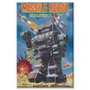 Buyenlarge Missile Robot Vintage Advertisement on Canvas
