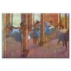 <strong>Dancers in the Foyer Painting Print on Canvas</strong> by Buyenlarge