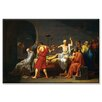 <strong>Buyenlarge</strong> Death of Socrates Painting Print on Canvas