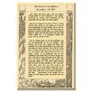 Buyenlarge 'The Gettysburg Address' Textual Art on Canvas