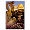 <strong>Buyenlarge</strong> 'The Reluctant Dragon' by Maxfield Parrish Painting Print on Canvas