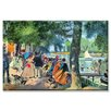 <strong>Buyenlarge</strong> La Grenouillere Painting Print on Canvas