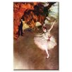 <strong>Prima Ballerina Painting Print on Canvas</strong> by Buyenlarge