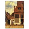 Buyenlarge The Little Street Painting Print on Canvas