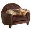 Enchanted Home Pet Ultra Plush Headboard Dog Sofa
