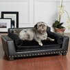 <strong>Enchanted Home Pet</strong> Noir Dog Sofa Bed
