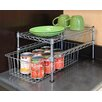 <strong>UltraZinc Mini Basket and Shelf Organizer</strong> by Seville Classics