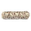 Wooded River Tibetan Fox Faux Fur Neckroll Pillow