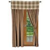 Wooded River Jacobs Plaid Window Treatment Collection