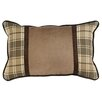 "Wooded River Jacobs Plaid 14"" x 20"" Pillow"