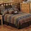 Wooded River Lake Shore Bedspread