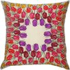 <strong>Flower Power Tulip Silk Pillow</strong> by Filos Design