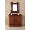 "<strong>James Martin Furniture</strong> Charleston 42"" Single Vanity Set with Wood Top"