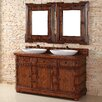 """<strong>Charleston 60"""" Double Vanity Set with Wood Top</strong> by James Martin Furniture"""