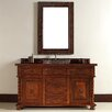 "<strong>James Martin Furniture</strong> Continental 60"" Single Vanity Set with Wood Top"