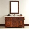 "<strong>James Martin Furniture</strong> Mykonos 60"" Single Vanity Set with Stone Top"