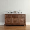 "James Martin Furniture Mykonos 60"" Single Vanity Set with Stone Top"